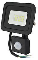 Прожектор LED c датчиком движения Ritar RT- FLOOD/MS 20A 20W IP65 2000Lm Black (01203)
