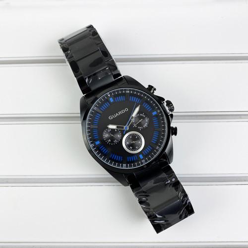 Мужские часы Guardo 011123-5 Black-Blue