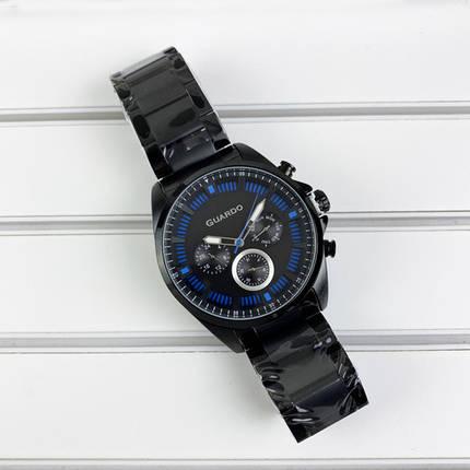Мужские часы Guardo 011123-5 Black-Blue, фото 2