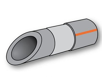 Труба Полипропиленовая Композит Алюминий 20х3,4 PN 20 Koer