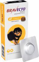 Таблетки Bravecto от блох и клещей для собак 2- 4,5 кг