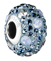 Пандора шармы от Swarovski Elements 81504 Met.Blue