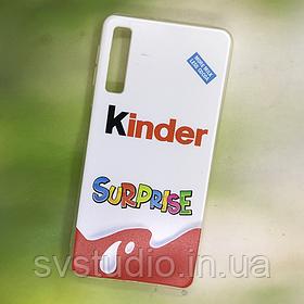 Чехол с картинкой для Samsung A750 (с принтом, с фото, именной)