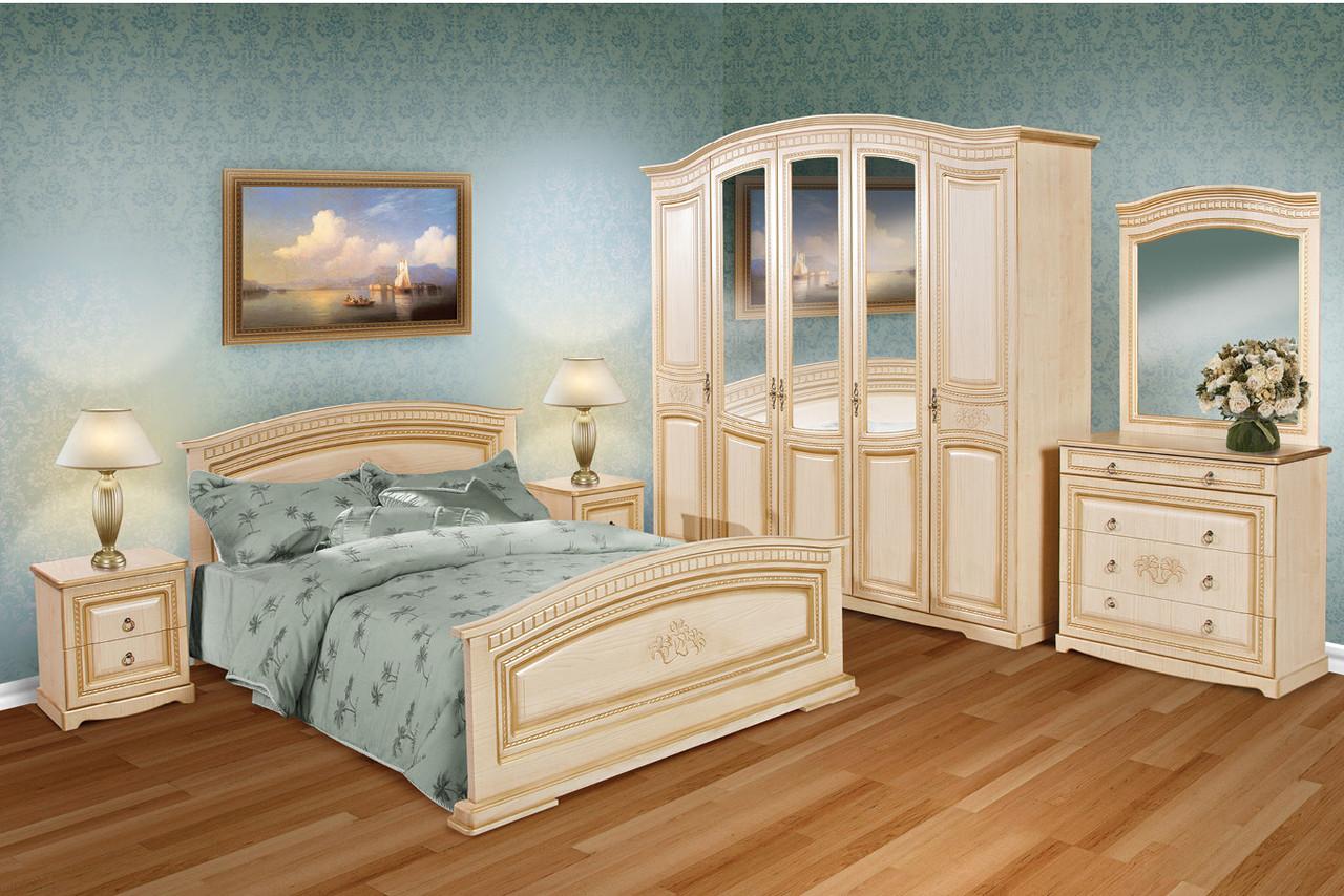 """Спальня """"Верона"""" клен (шкаф 5-и дверный)"""