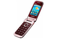 Мобильный Samsung C3592 (Wine Red), фото 1