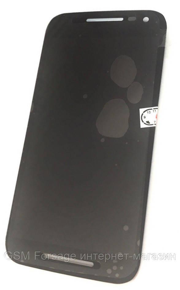 Дисплей Motorola Moto G3 XT1540, XT1541, XT1544, XT1548, XT1550 complete Black
