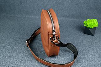 """Чоловіча сумка """"Модель №64"""", Шкіра Італійський краст, колір Коричневий, фото 2"""
