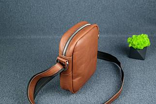 """Чоловіча сумка """"Модель №64"""", Шкіра Італійський краст, колір Коричневий, фото 3"""