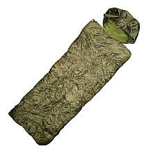 Спальний мішок-ковдра Max Fuchs двошаровий Hollow Fiber Olive 31642B