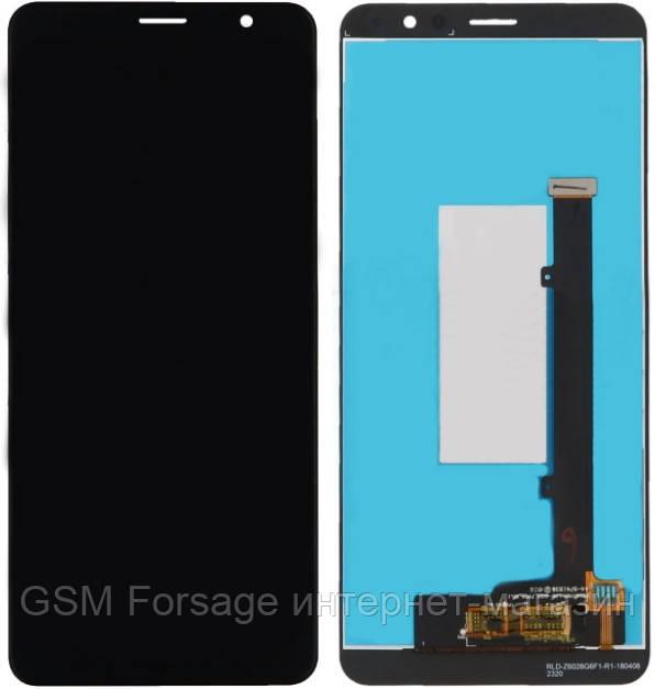 Дисплей ZTE Blade Max View (Z610DL) complete Black
