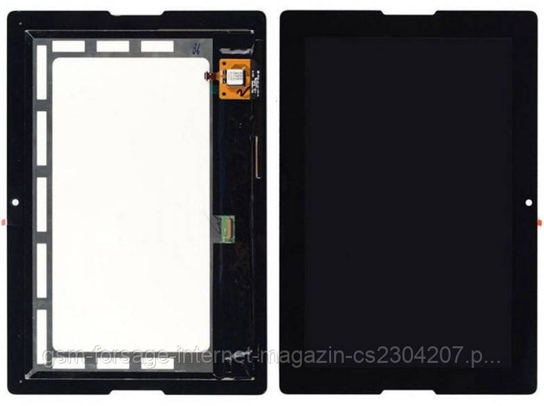 Дисплей Lenovo Idea Pad A7600 complete with frame Black