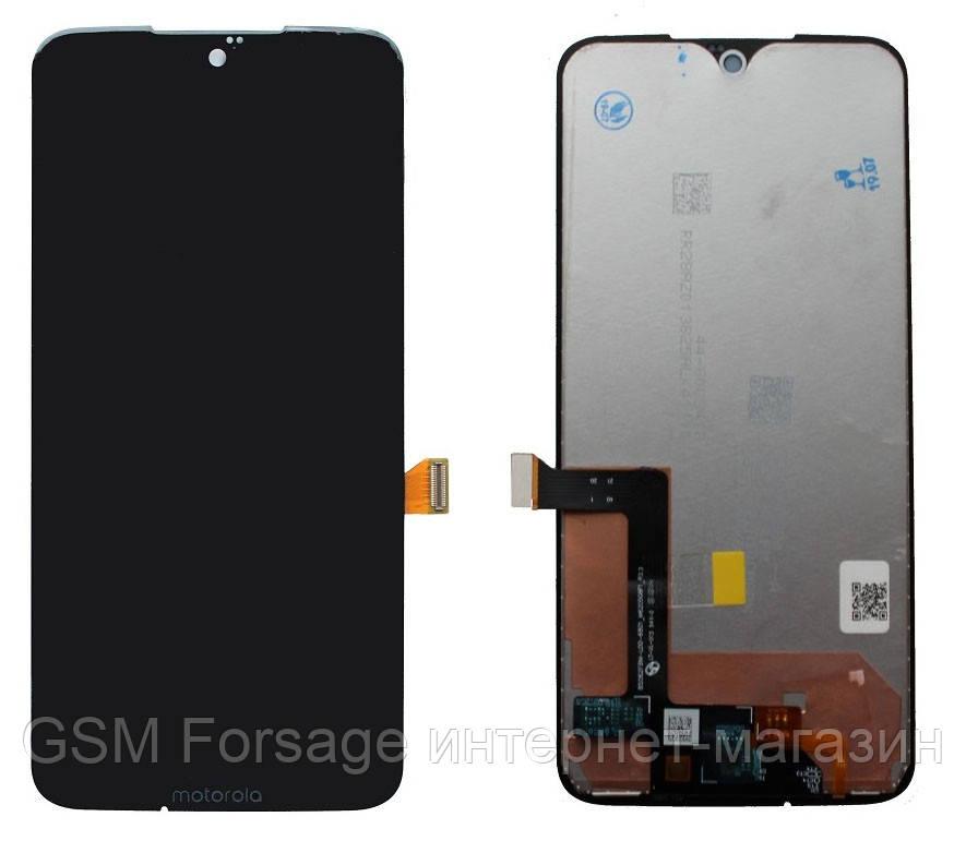 Дисплей Motorola Moto G7 Plus XT1965 complete with touch Black