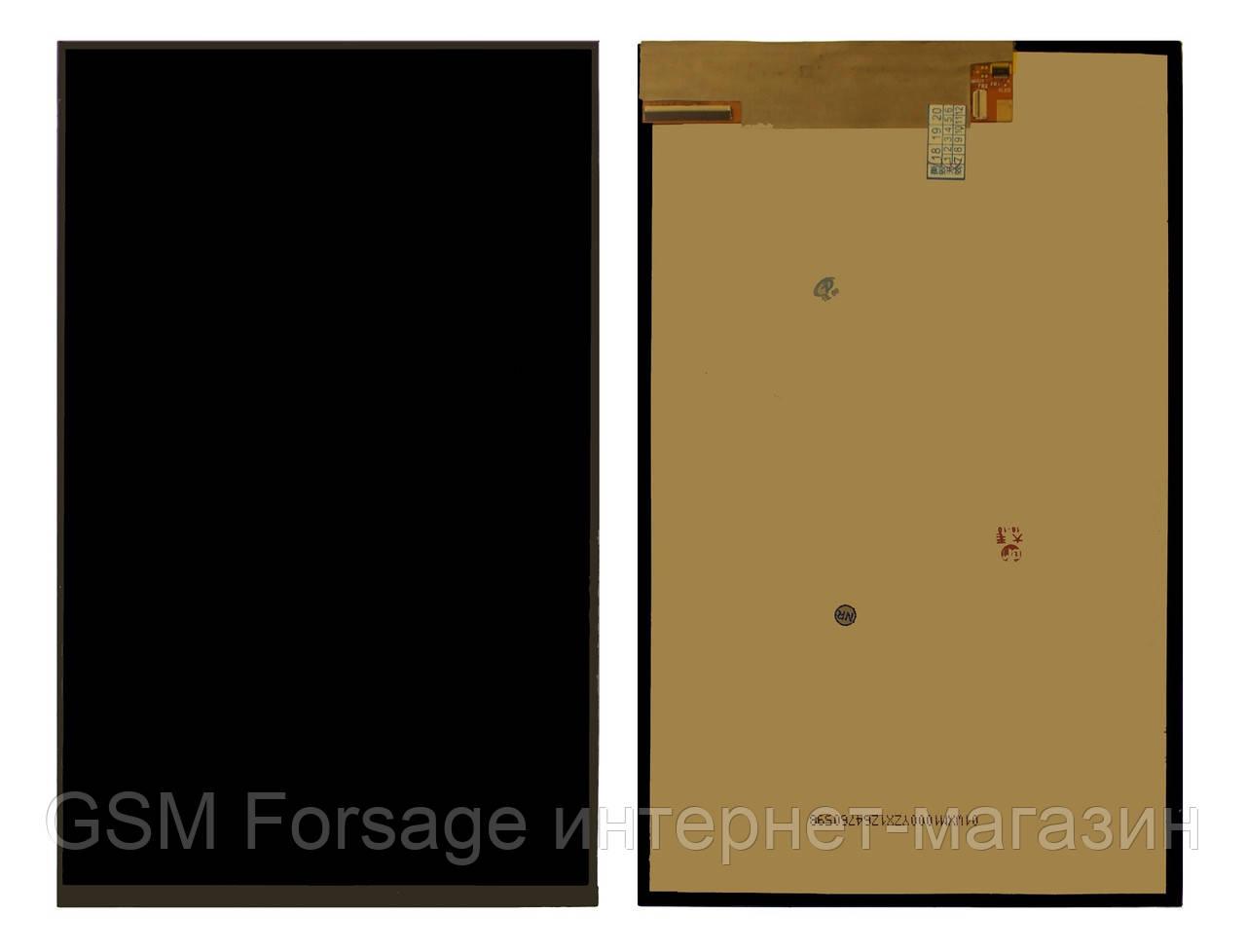 Дисплей Asus ZenPad (10) (Z300C, Z300CG, P021, P023) only LCD (жовтий шлейф)