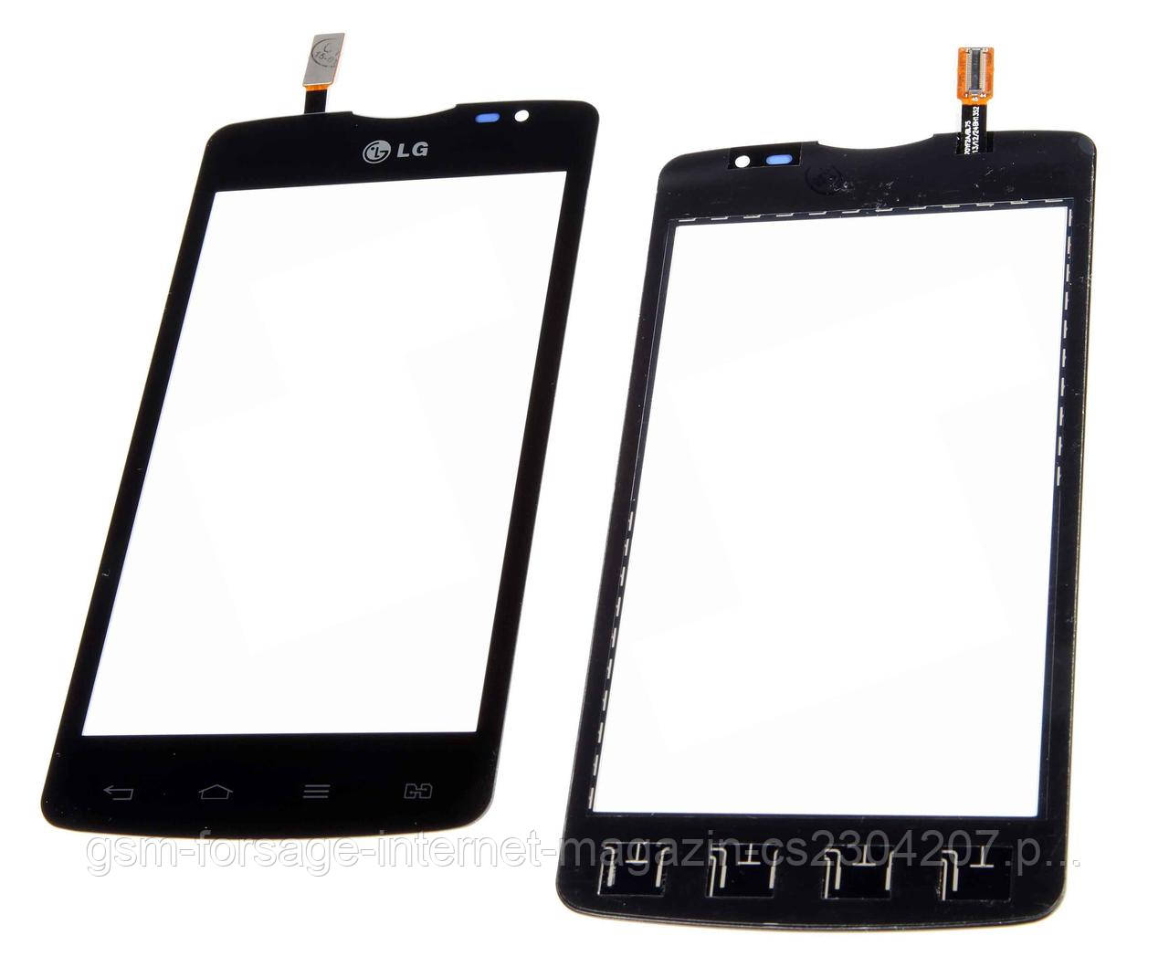 Тачскрин LG L80 D380 Black