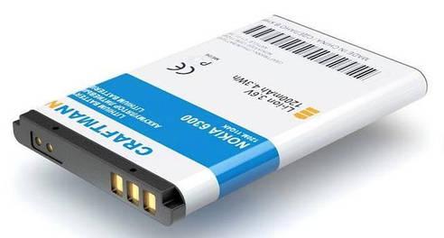 Акумулятори для телефонів, mp3 плеєрів
