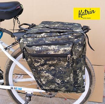 Велосумка-штаны на багажник. Велосумка на багажник. Сумка на багажник велосипеда. Цвет зеленый хаки
