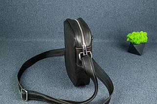"""Чоловіча сумка """"Модель №64"""", Шкіра Італійський краст, колір Кава, фото 3"""