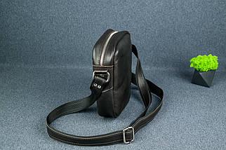 """Чоловіча сумка """"Модель №64"""", Шкіра Італійський краст, колір Кава, фото 2"""