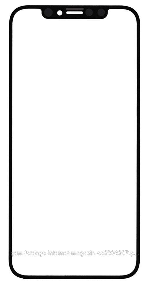 Стекло дисплея iPhone XS Max Black (для переклейки)