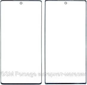 Стекло дисплея Samsung N970 Galaxy Note 10 Black (для переклейки)