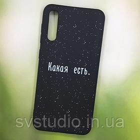 Чехол с картинкой Samsung A30 (с принтом, с фото, именной)