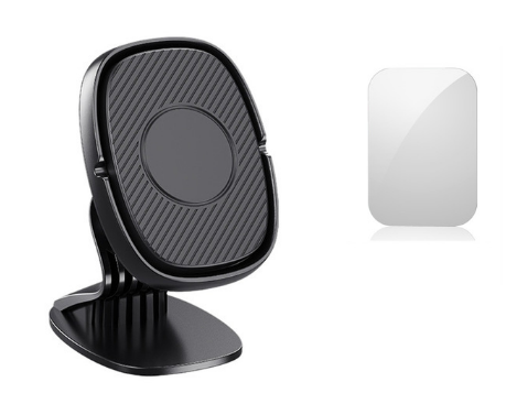 Магнитный держатель на торпеду для телефона в авто Lovebayс металлической пластиной в комплекте