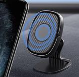 Магнитный держатель на торпеду для телефона в авто Lovebayс металлической пластиной в комплекте, фото 2