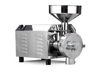 Мельница DEZOPT HK-820 (2.2 кВт, 150 кг/час) профессиональная жерновая мукомолка для сухих сыпучих материалов.