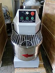Тестомес  спиральный двухскоростной  VEKTOR HS 40 (40 литров) с таймером времени
