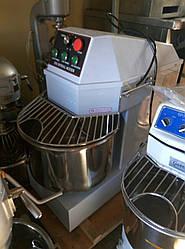 Тестомес 30 литровый спиральный машина тестомесильная VEKTOR SH 30 с теймером (Новый)