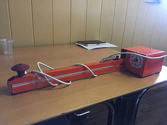"""Аппарат упаковочный  запайщик """"Струна"""" АП-5 (400мм) с регулятором, отрезной запайщик пакетов"""