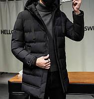 Мужской зимний пуховик. Модель 8202-н, фото 2