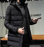 Мужской зимний пуховик. Модель 8202-н, фото 3
