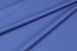 Сатин-твил однотонный синий