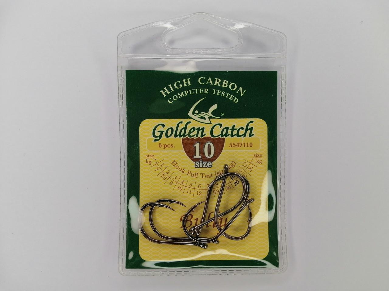 Крючек Golden Catch Bully №10