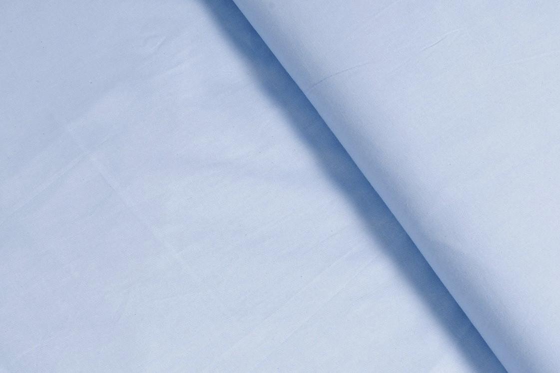 Сатин-твил Голубой