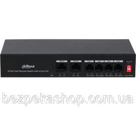 Комутатор DH-PFS3006-4ET-36