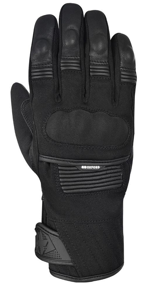 Зимние мотоперчатки Oxford Toronto 1.0 MS черные, S