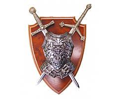 Панно: Кираса, мини-меч Экскалибур и мини-меч Тизона | 506 (DA)