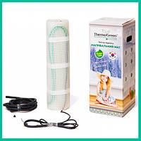 0.5 м² Мат нагревательный ThermoGreen / 75 Вт / теплый пол электрический  под плитку / Термогрин, Корея, фото 1