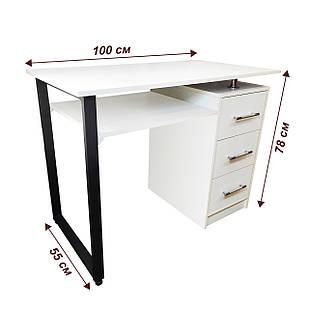 Маникюрный стол Лофт