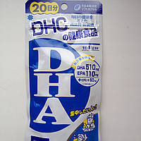 Омега 3 + витамин Е (Япония, производство «DHC», 80 таблеток на 20 дней).