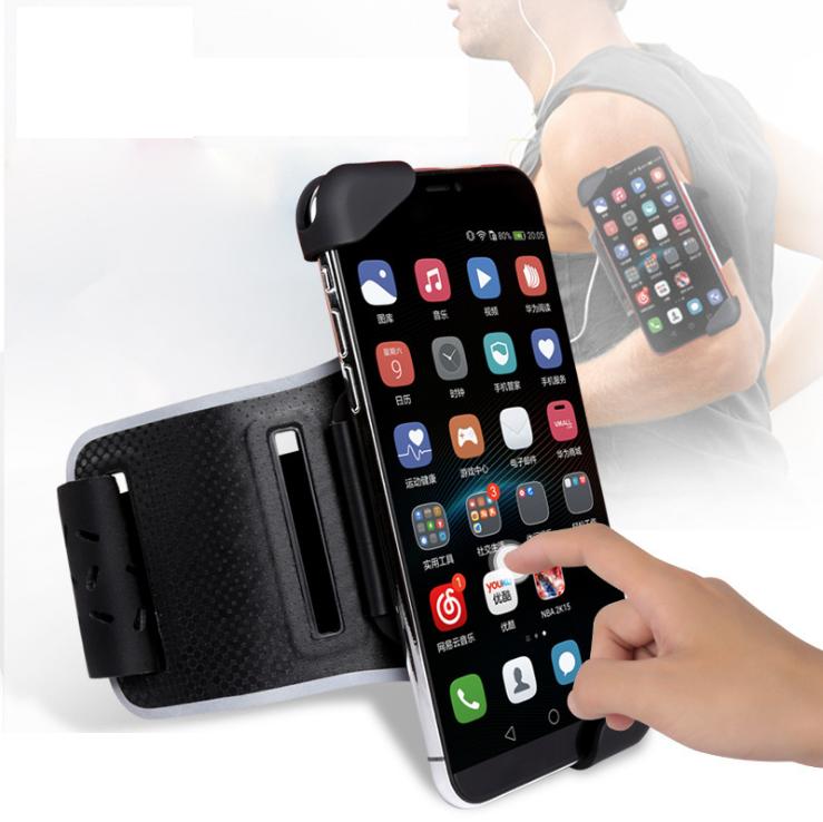 """Универсальный держатель для смартфона 7"""" чехол на руку спорт. для бега и тренировок"""