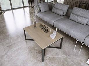 Журнальный столик MILO Loft Industrial, фото 2