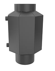 Теплообменник водяной HITZE 7 КВТ Ø200