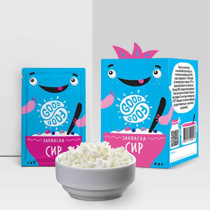 Закваска для приготування йогурту Сир Good food (1 пакетик)