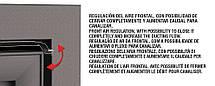 Касетная топка BRONPI PARIS 70-E, фото 3