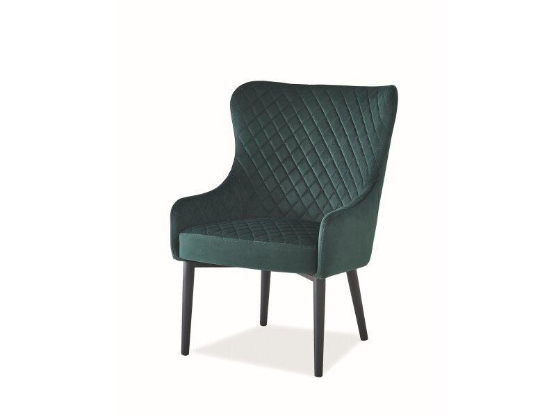 Кресло COLIN F Velvet Signal Зеленый