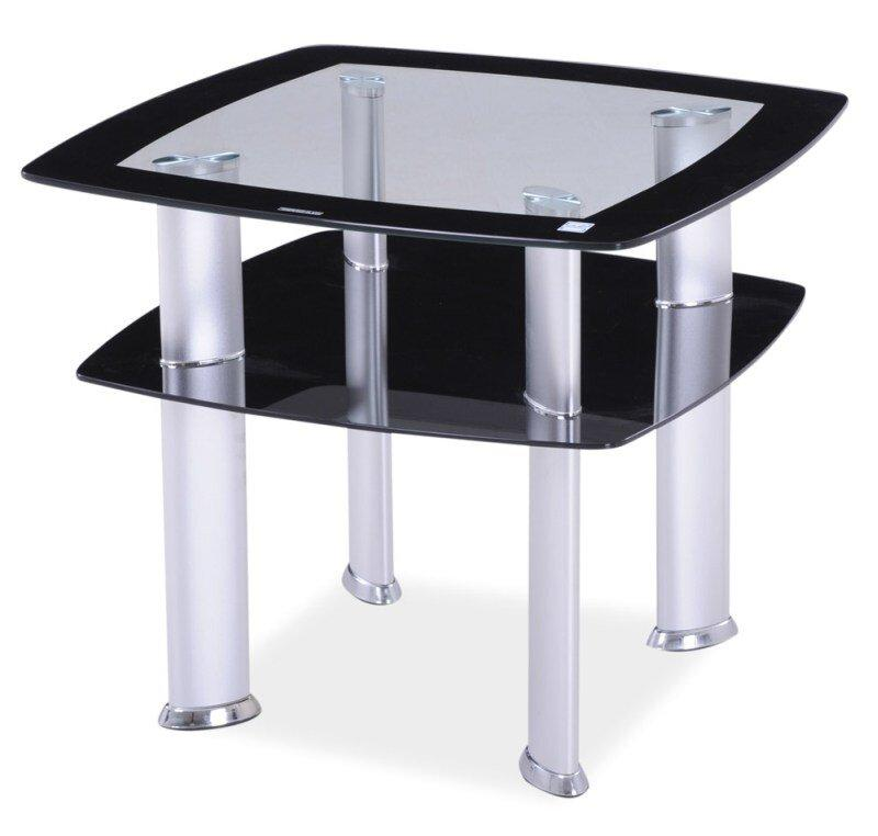 Журнальный столик DARIA D Signal Прозрачный 60x60x55