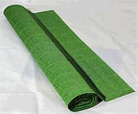 Крепированная  (гофрированная) бумага, Cartotecnica Rossi, 180 г, № 565, зеленая